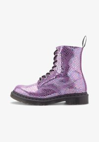 Dr. Martens - Lace-up ankle boots - pink - 0