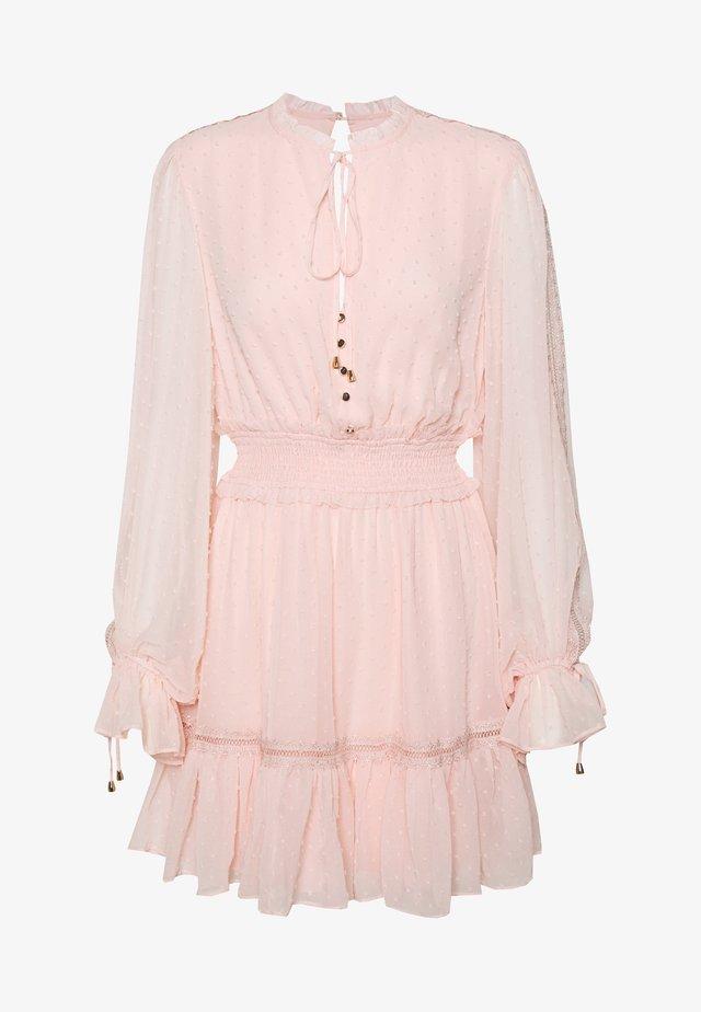 MACIE SKATER DRESS - Vestido informal - blush