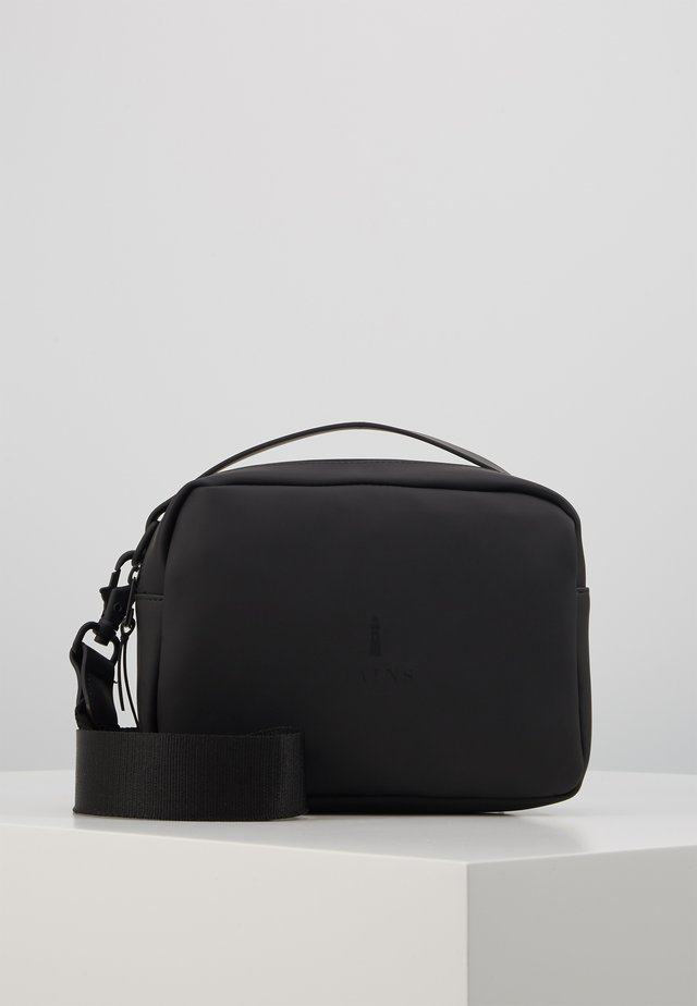 BOX BAG - Handbag - black