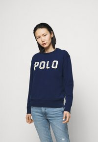 Polo Ralph Lauren - FEATHERWEIGHT - Mikina - holiday navy - 0