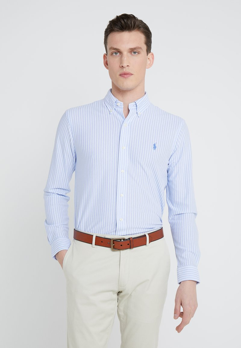 Polo Ralph Lauren - OXFORD  - Shirt - light blue/white