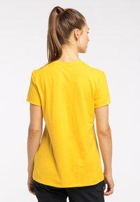 Haglöfs - Basic T-shirt - pumpkin yellow - 1