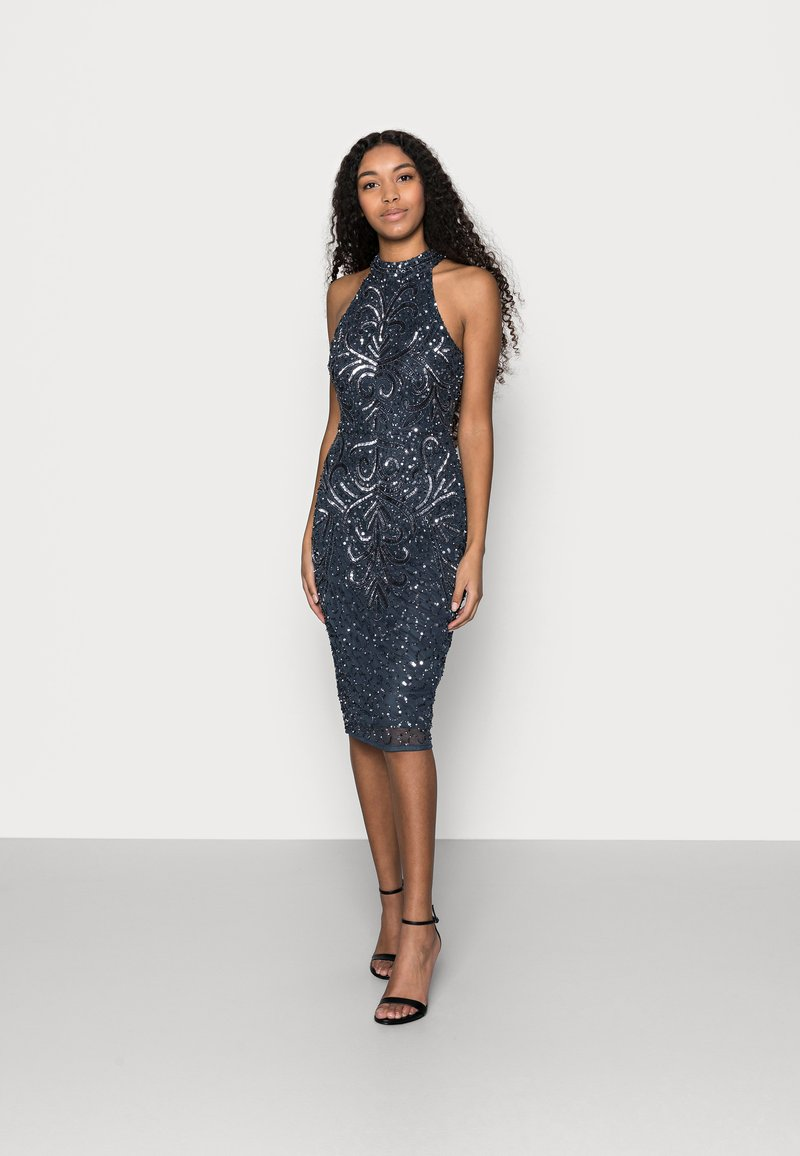 SISTA GLAM PETITE - GLOSSIE  - Cocktail dress / Party dress - navy