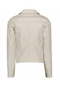 Garcia - Faux leather jacket - sand - 5