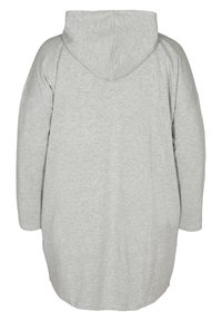 Zizzi - Zip-up hoodie - light grey - 6
