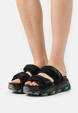 LETTIE SLIDE - Pantofle - black