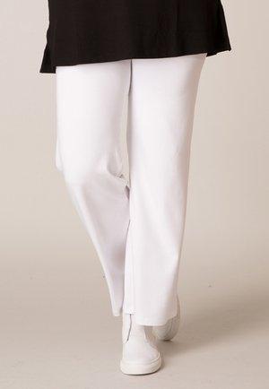 AMYNTA SANDRA - Trousers - weiss