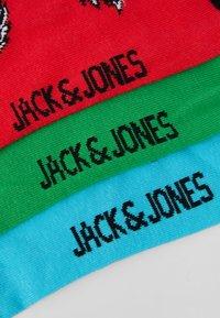 Jack & Jones - JACANGUS SOCK 5 PACK - Socks - red/blue/black - 3