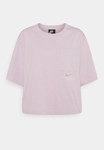 Camiseta estampada - iced lilac/white