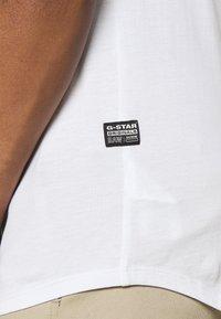 G-Star - LASH 2 PACK - Basic T-shirt - white - 5