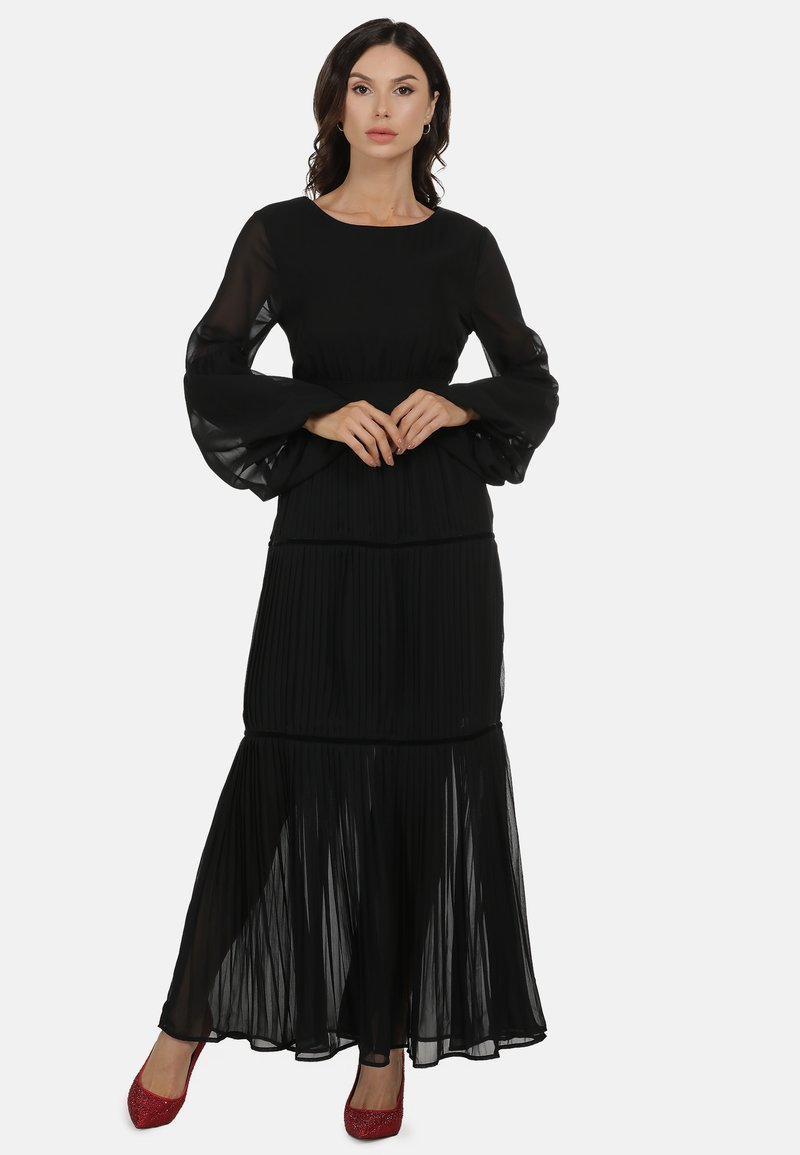 faina - Maxi dress - schwarz