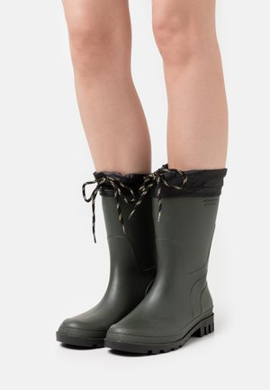 Wellies - dark green