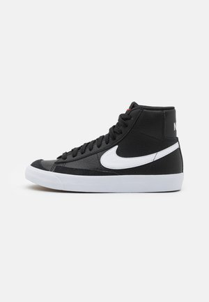 BLAZER MID '77 UNISEX - High-top trainers - black/white/team orange