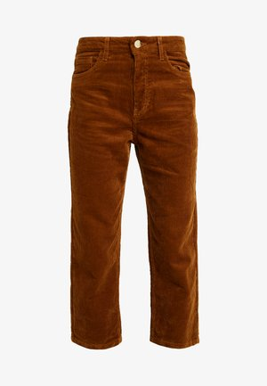 ONLBITTEN MID PANT - Trousers - rubber