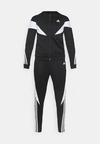 adidas Performance - COLORBLOCK - Tracksuit - black/white - 6