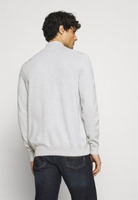 Marc O'Polo - TROYER WITH ZIP - Jumper -  grey - 2