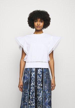 UPPER BODY GARMENT - T-shirt imprimé - white