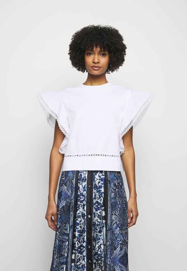 UPPER BODY GARMENT - T-shirt print - white