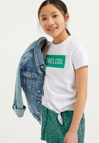 WE Fashion - T-shirt print - white - 1