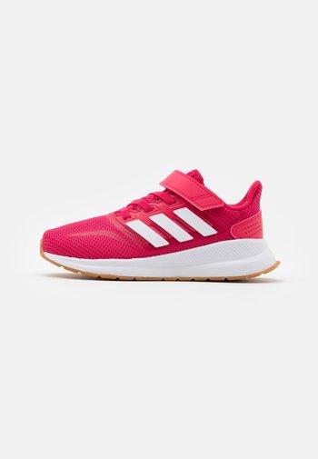 RUNFALCON UNISEX - Neutral running shoes - power pink/footwear white