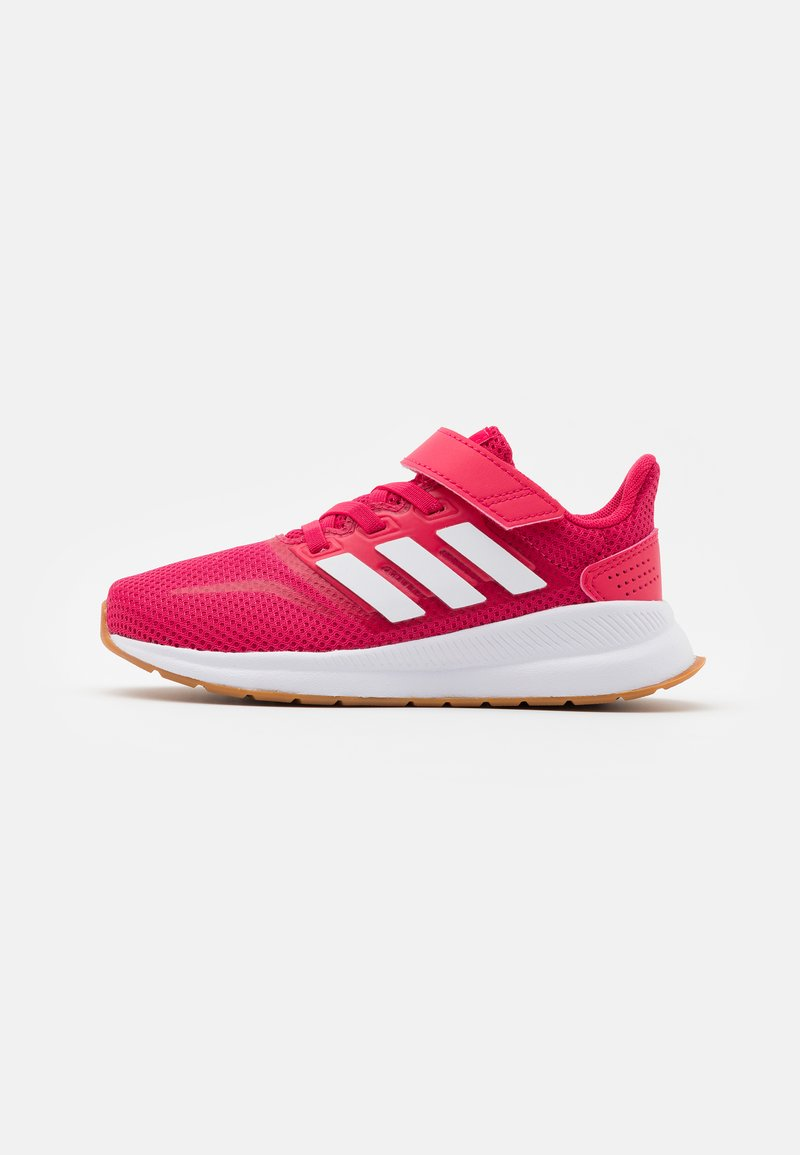 adidas Performance - RUNFALCON UNISEX - Neutral running shoes - power pink/footwear white