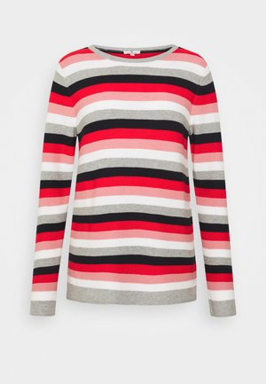 SWEATER NEW OTTOMAN - Jumper - navy/red