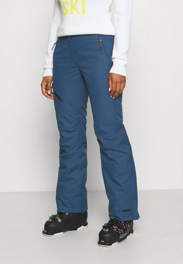 CURLEW - Snow pants - blue