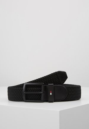 DENTON ELASTIC - Braided belt - black