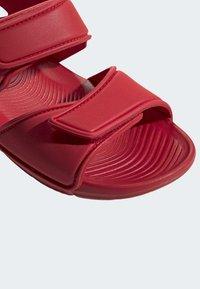 adidas Performance - ALTASWIM - Sandales de randonnée - red - 8