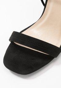 Glamorous Wide Fit - High heeled sandals - black - 2