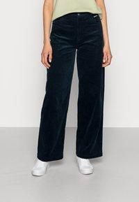 Résumé - GANILLA PANT - Relaxed fit jeans - navy - 0