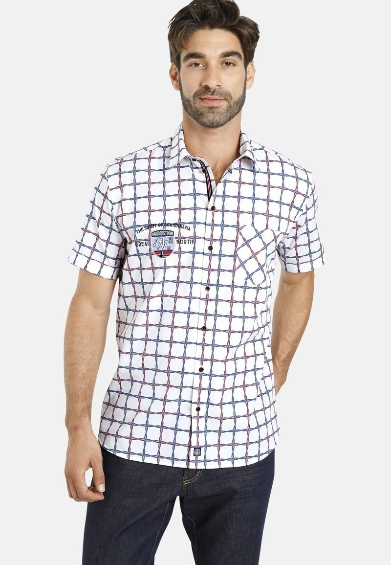 Jan Vanderstorm - LORIS - Shirt - weiß