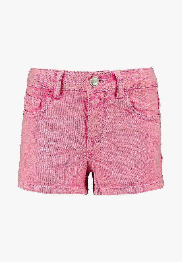 TOYAS - Denim shorts - magenta