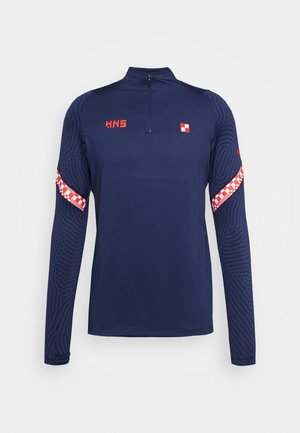 KROATIEN CRO DRY - National team wear - midnight navy/light crimson