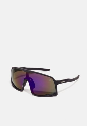 HENRIK - Sunglasses - black/blue