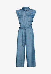 Marc O'Polo DENIM - PATCH ON POCKETS  - Tuta jumpsuit - blue - 5