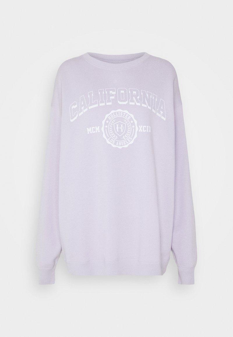 Hollister Co. - VINTAGE GRAPHIC CREW - Sudadera - purple