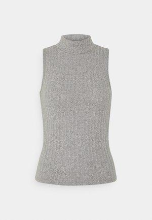 TARA TANK - Top - grey melange