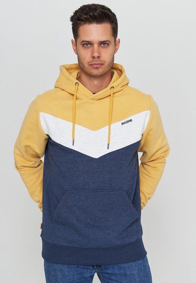 Sweatshirt - yellow navy mel