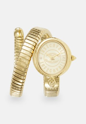 ALL GOLD SINGLE WRAP WATCH - Watch - champagne sunray