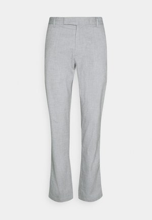 TAB TROUSER - Trousers - iron gate heather