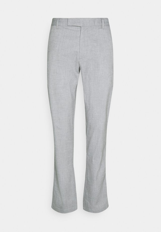 TAB TROUSER - Pantalon classique - iron gate heather