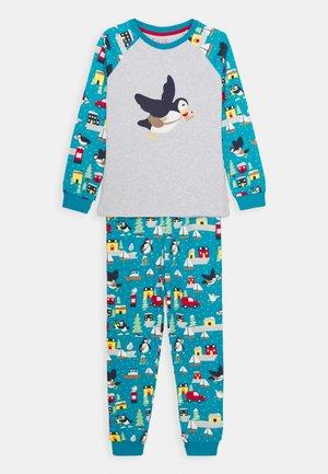 JAMIE JIM JAMS SET UNISEX - Pyjama - blue/grey marl