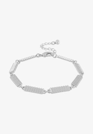 BJÖRK LINK - Armband - rhodium plating