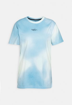 CREW WASH - Print T-shirt - greenish blue