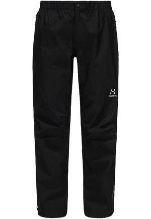 L.I.M PANT  - Outdoor trousers - true black