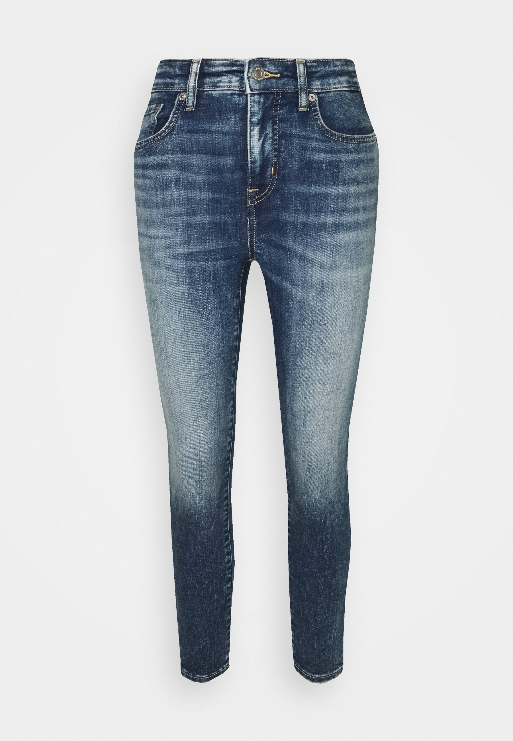 Women HIGH RISE ANKLE 5-POCKET - Jeans Tapered Fit