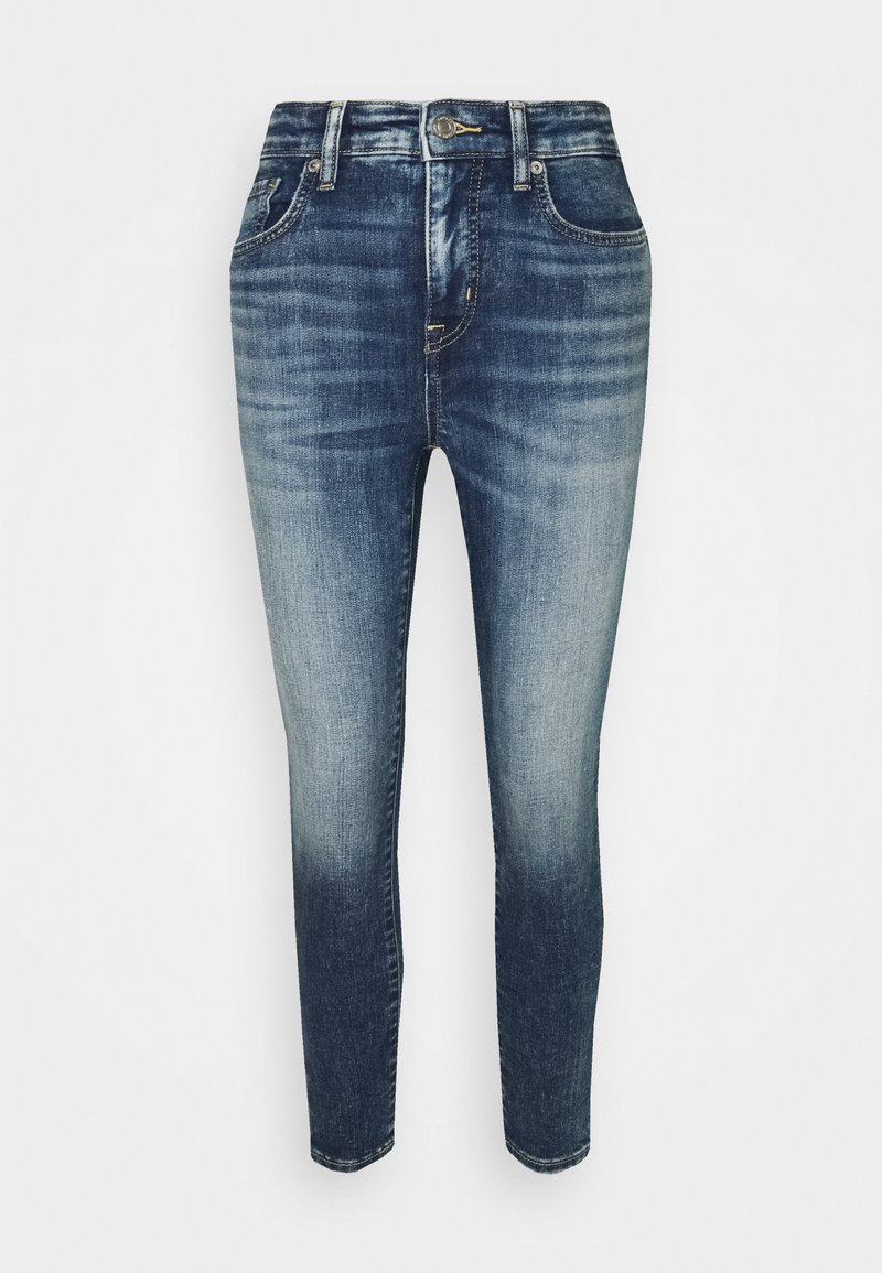 Lauren Ralph Lauren Petite - HIGH RISE ANKLE 5-POCKET - Jeans Tapered Fit - legacy wash