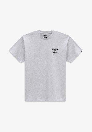 MN GROW COMMUNITY SS - Print T-shirt - athletic heather