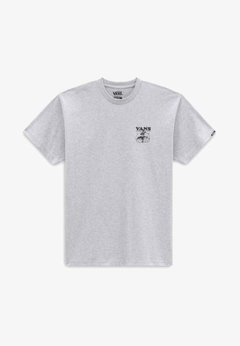 MN GROW COMMUNITY SS - T-shirt med print - athletic heather